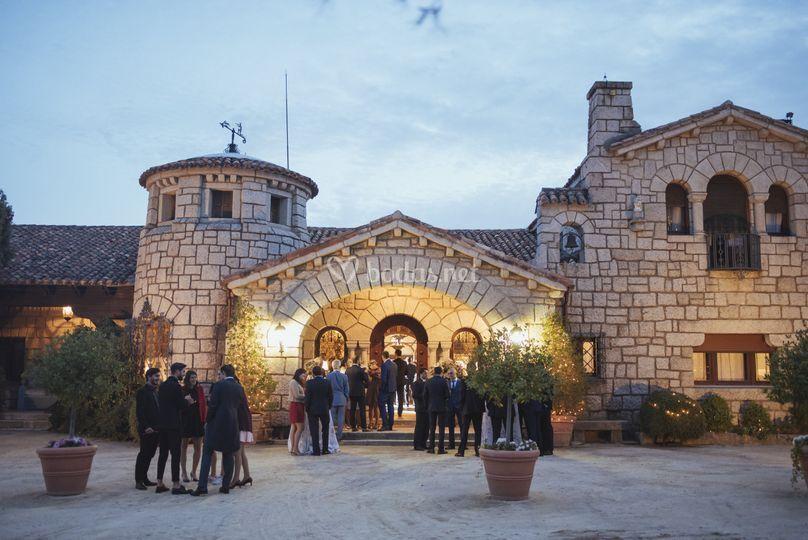 Fachada Casona de Torrelodones