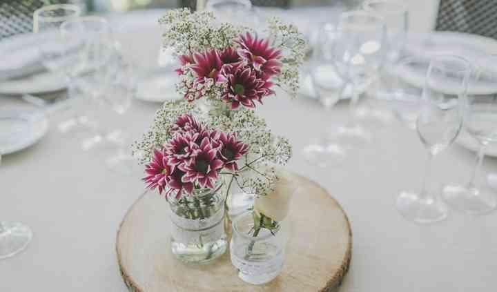 Detalle floral vintage