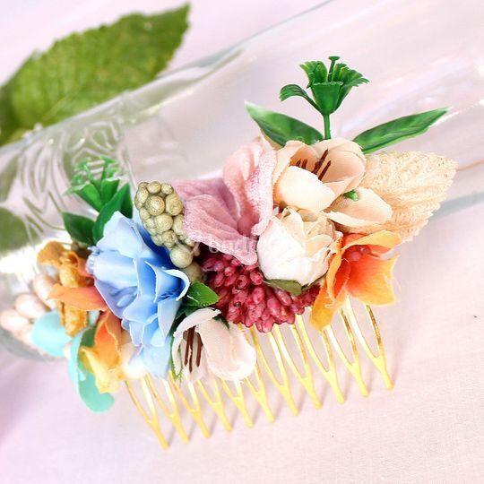 Peine de flores