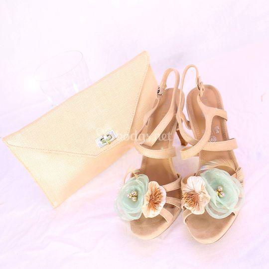 Sandalias decoradas personalizadas