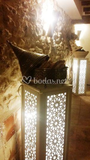 Iluminación marroquí