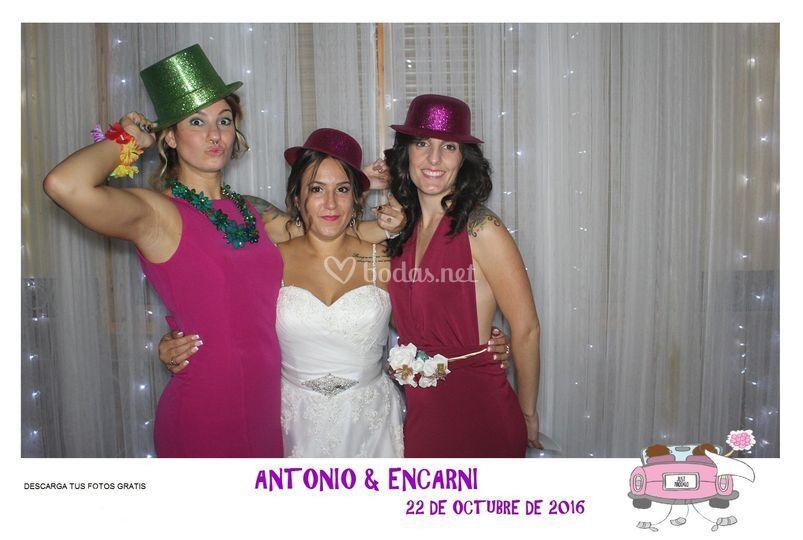 La boda de Encarni