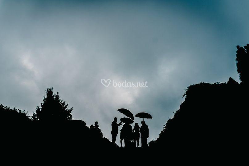 Ceremonia lluviosa