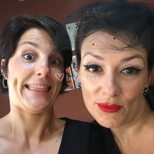 Maquillaje boda vintage