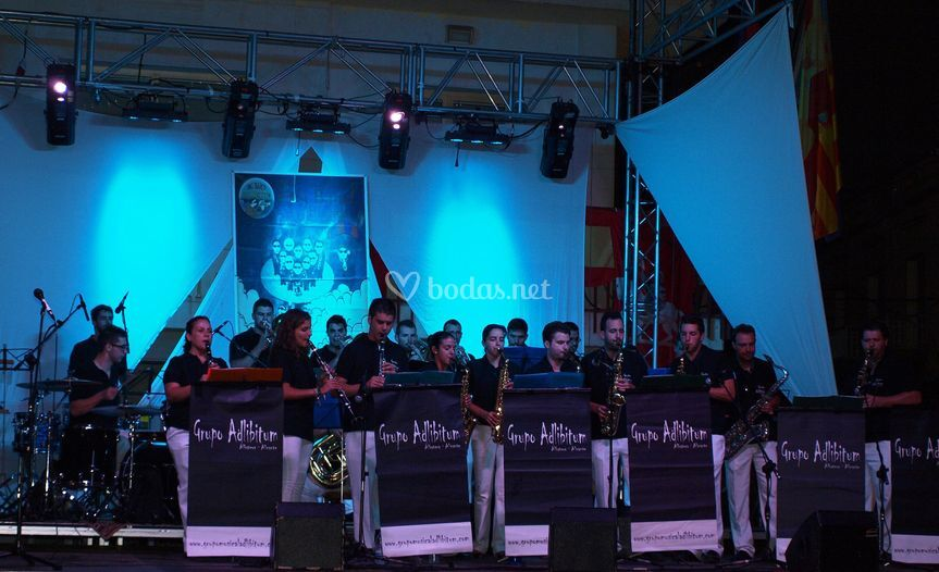 Formación Big Band