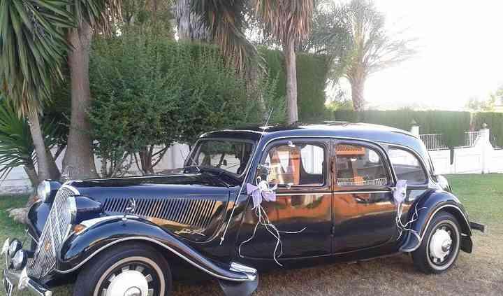 Citroen 11 Limousina año 1955