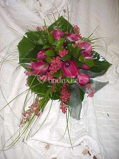 Bouquet calas vino tinto