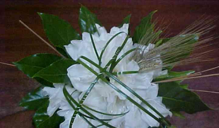 Bouquet de gladiolos y fantasía
