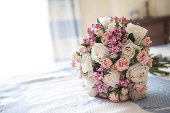 Ramo de novia tierno