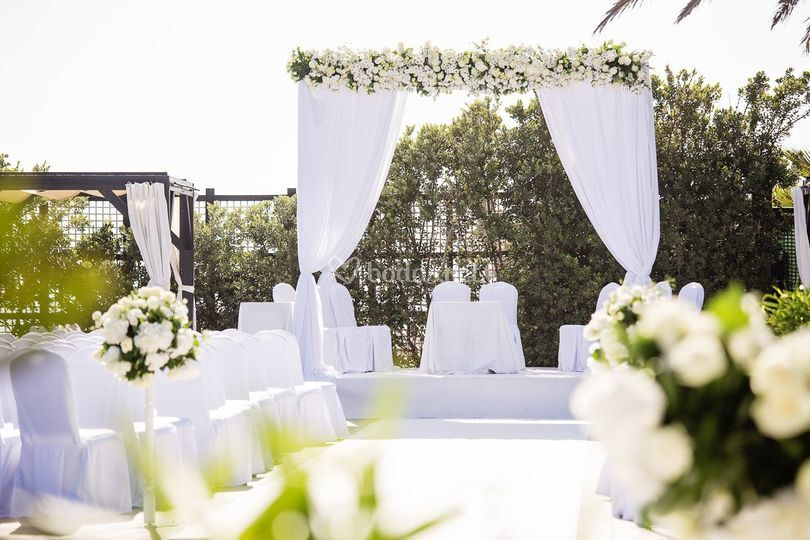 Altar terraza Marbella