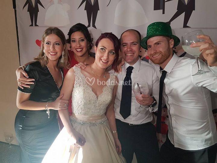 Fotomatón boda.
