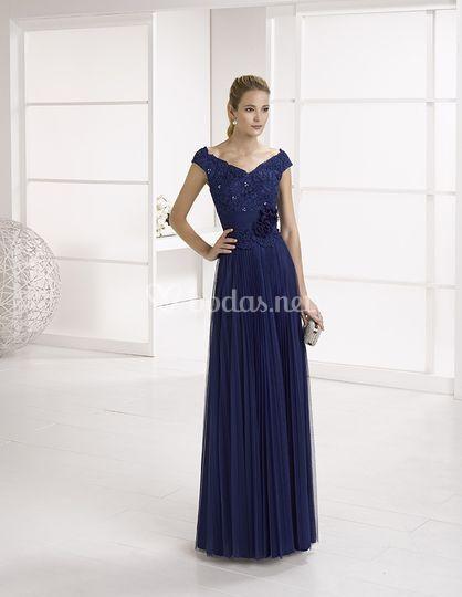 Vestido largo de invitada