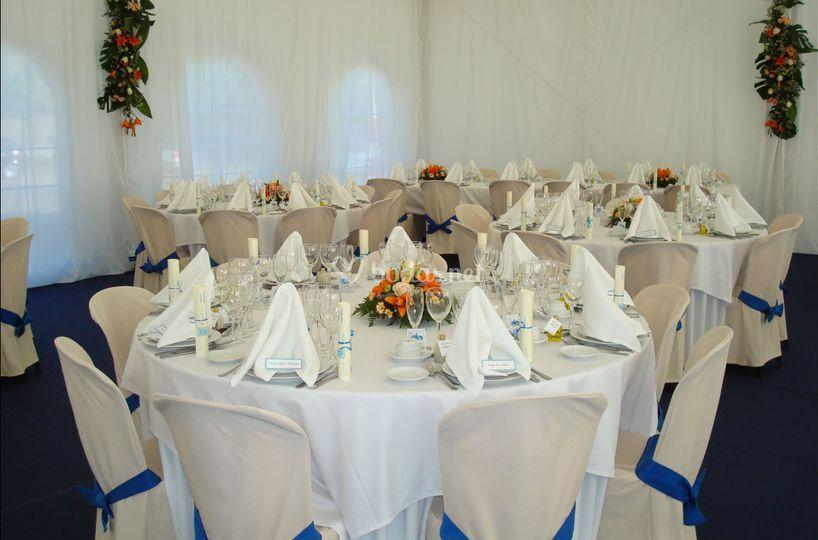 Montajes de Banquetes