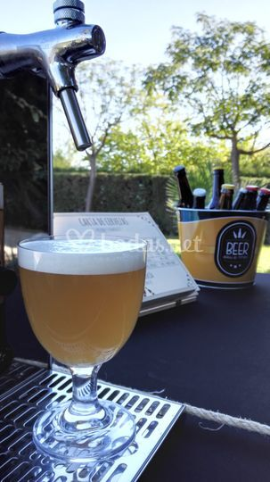 Cerveza artesanal de grifo