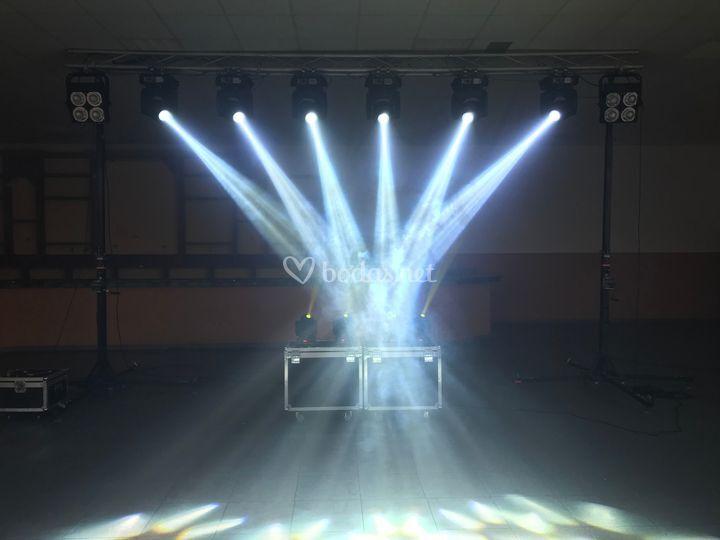 Morte Sonido e Iluminación