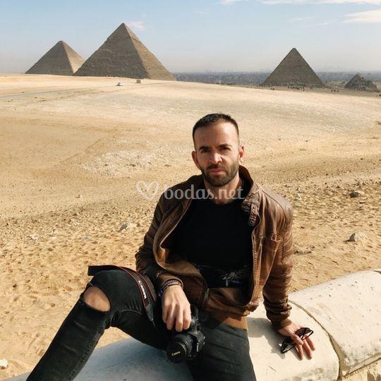 Santi en Egipto
