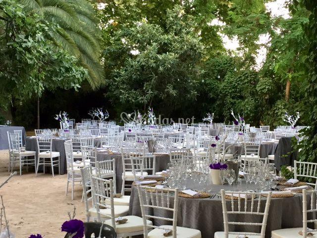 Montaje boda exterior 3