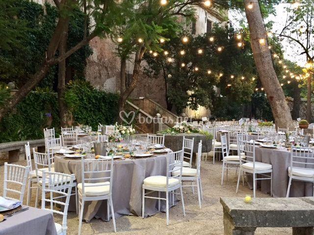 Montaje boda exterior 2
