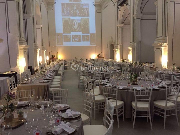 Montaje boda interior