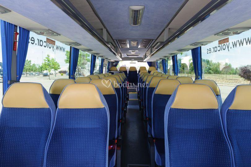 Alquiler de autocar accesible