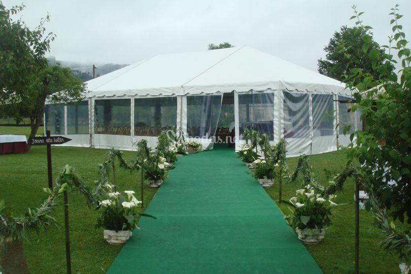 Caminos de boda