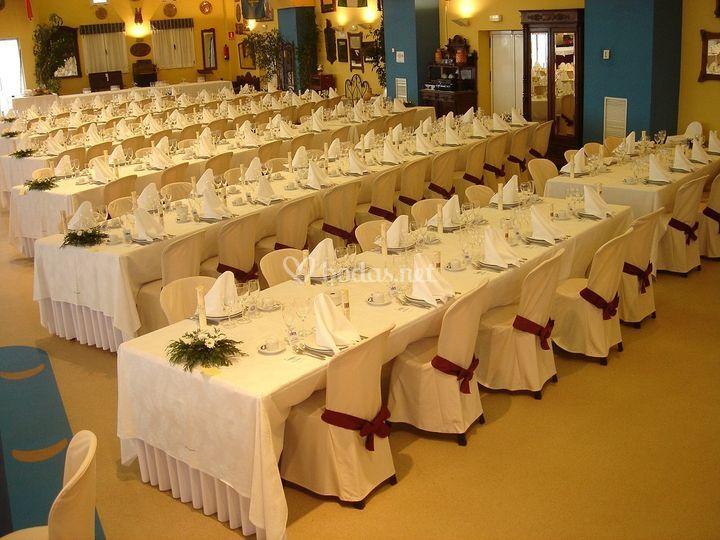 Salón Centenario. Celebración de Banquetes