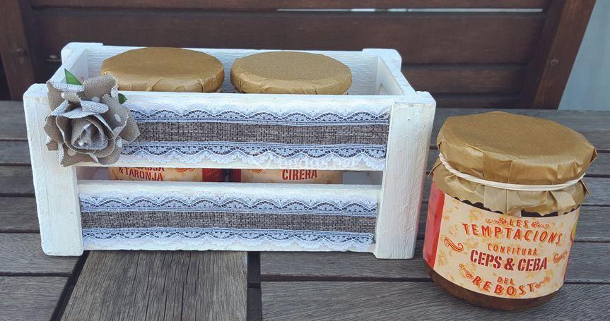 Pack regalo caja personalizada