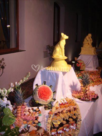 Decoraciones de buffet