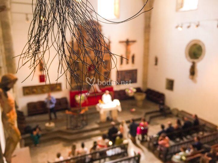 También en iglesia
