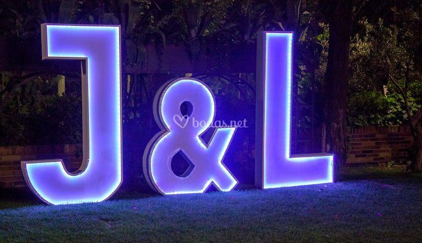 Letras luminosas XXL