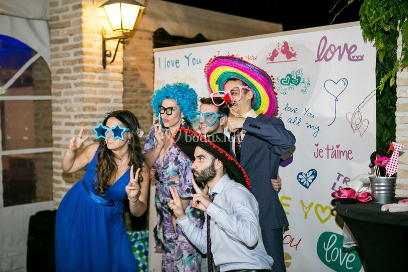 Alquiler de fotomatón en Madrid