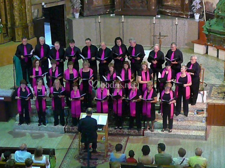 Foto desde el coro