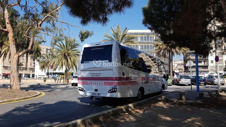 Ex. Autobús 32 pax