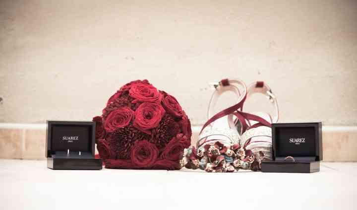 Bouquet rojo
