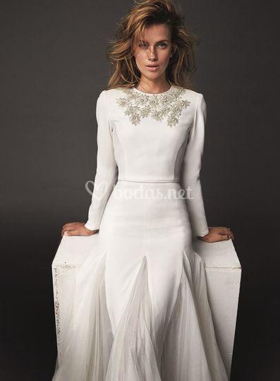 Vestido de novia Bambú