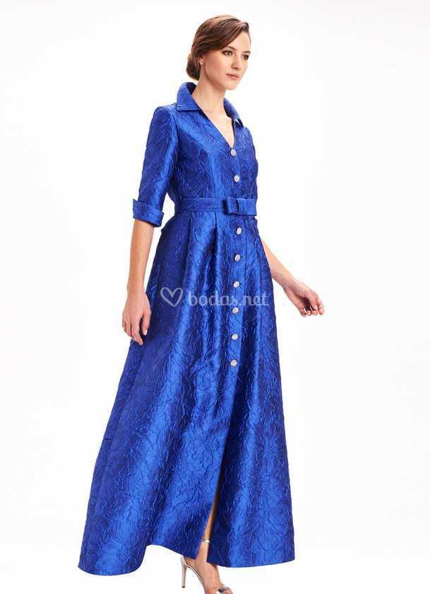 estilos clásicos comprar nuevo último descuento Vestido camisero largo de Miss Etern Atelier | Foto 73