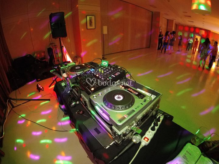 Frontal Cabina DJ GoPro H5S