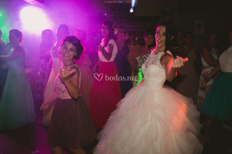 Baile sorpresa de la novia