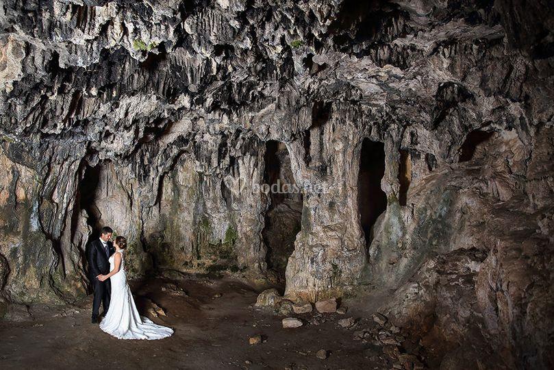 Boda en una cueva