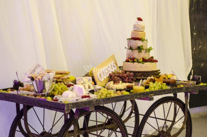 Buffet de quesos de mas a lacy vilaplana catering foto 36 - Vilaplana catering madrid ...