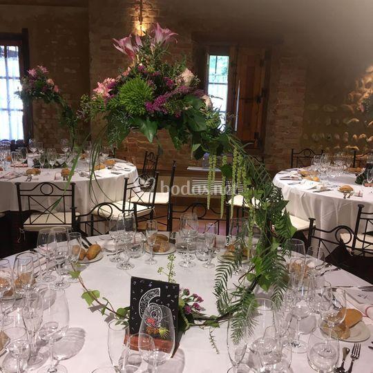 Centro mesa elegance