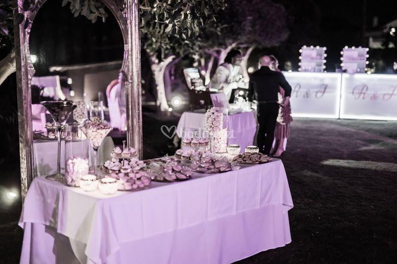 Marbella wedding candy bar