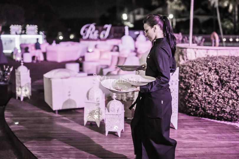 Marbella wedding catering