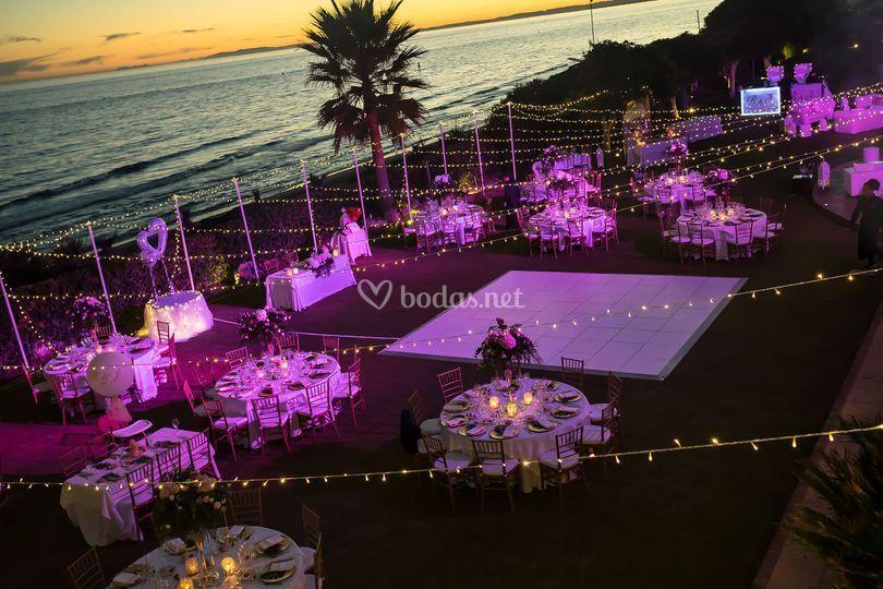 Marbella wedding paradise