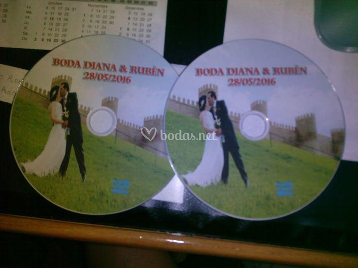 DVD de boda