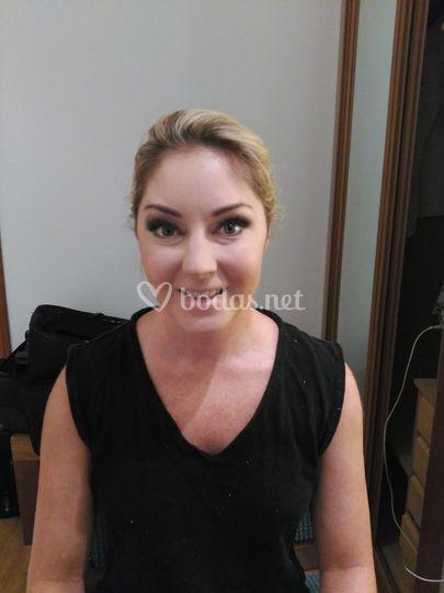 Maquillaje para TV australiana
