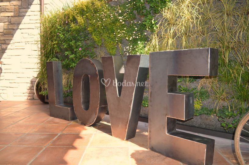 Letras love xl