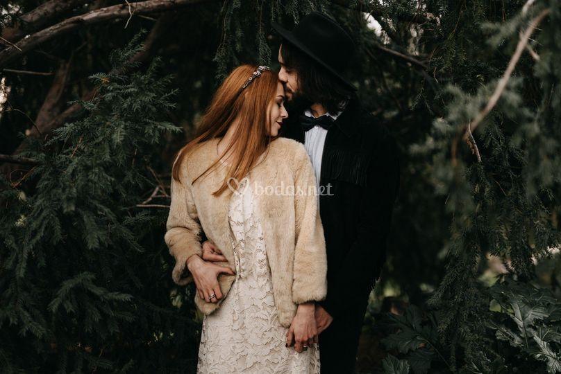 Editorial de boda en Madrid