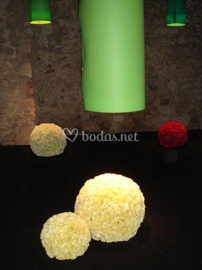 Bolas florales