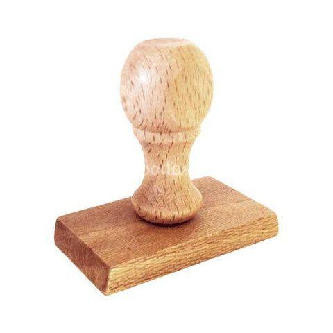 Sello de madera
